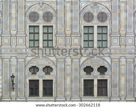 Emperor's Courtyard at the Residence in Munich - stock photo