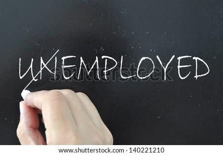Employed - stock photo