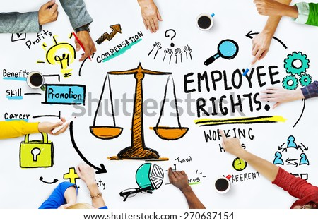 Employee Rights Employment Equality Job People Meeting Concept - stock photo