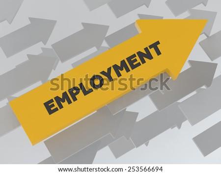 EMPLOYMENT - stock photo