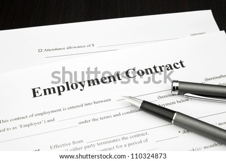 Employment Contract Stock Images, Royalty-Free Images & Vectors