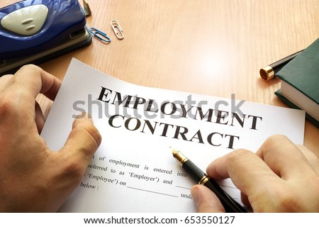 Employment Contract Stock Images RoyaltyFree Images  Vectors