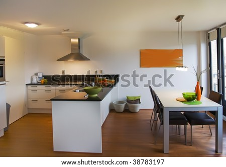 empty apartment for living - stock photo