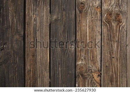 Empty Backdrop of old retro vintage grunge style wooden frame from texture dirty brown or yellow boards background - stock photo