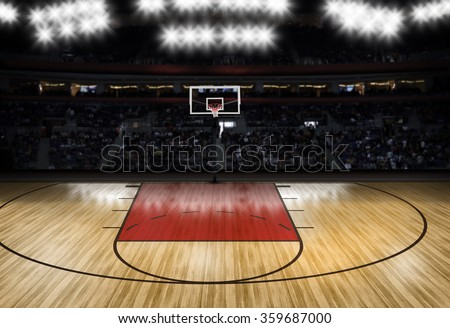 Basketball stock images royalty free images vectors for Custom basketball court cost
