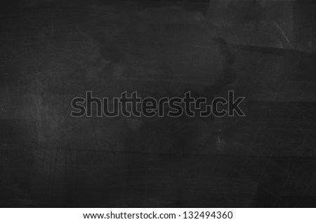 Empty Blackboard - stock photo