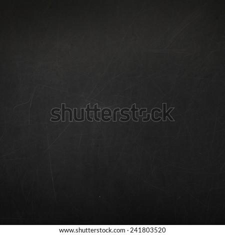 Empty blackboard abstract background - stock photo