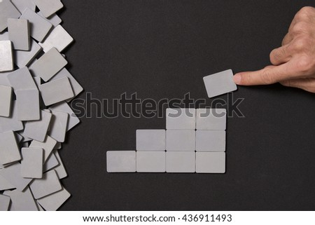 empty blocks and finger