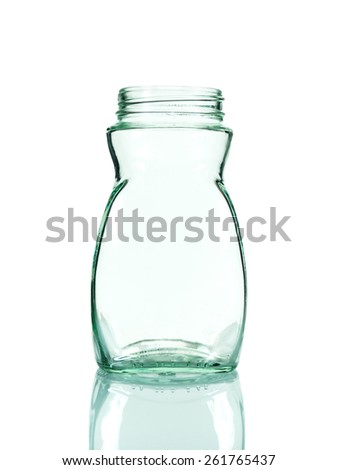 empty bottle on a white background,include clipping path