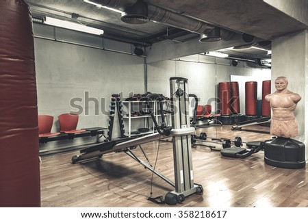 empty boxing gym - photo #19