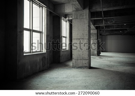 Empty buildings - stock photo
