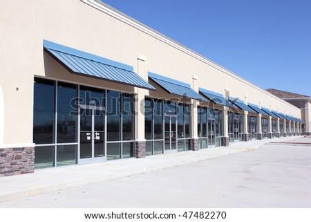 Empty business building - stock photo