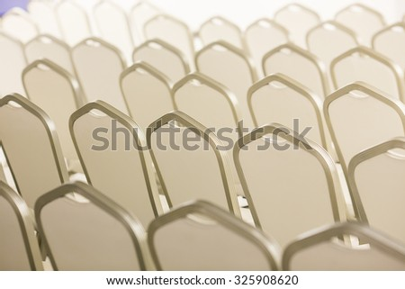 Empty business conference room interior - stock photo