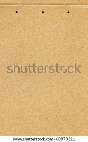 Empty cardboard texture - stock photo