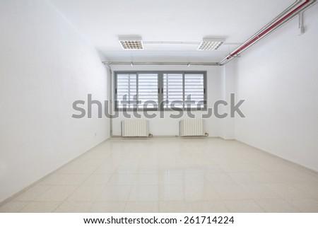 Empty classroom - stock photo