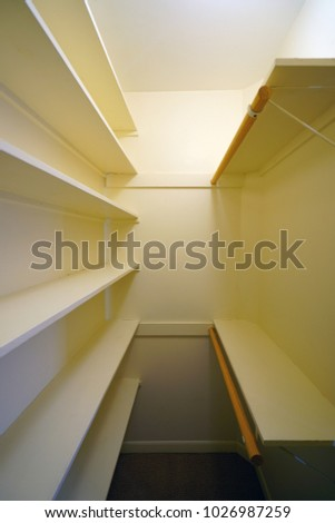 Empty Closets Before A Move In