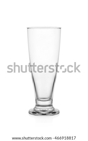 Empty Cocktail Glass isolated on white background
