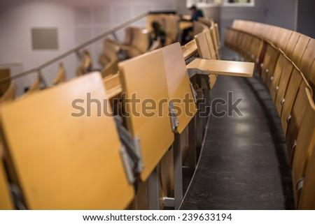 empty college auditorium - stock photo