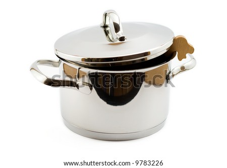 empty cooking pot with steam relief