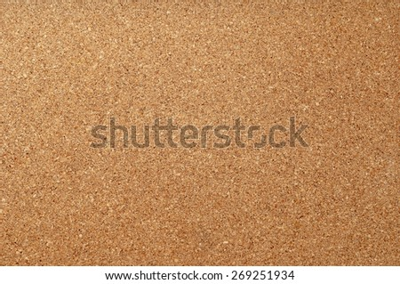 Empty cork notice board texture and background - stock photo