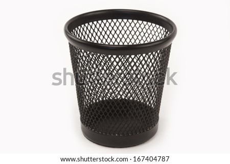 empty cup holder black