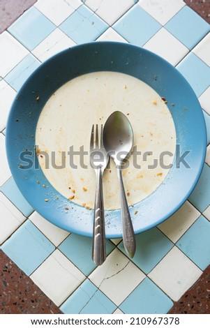 empty dish - stock photo