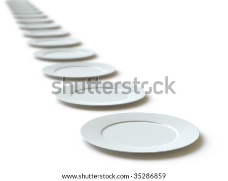 empty dish. In my portfolio there is collection of pictures of tablewares. You only enter IN a SEARCH the Photographer Name: PAVEL IGNATOV and keyword: TABLEWARE - stock photo