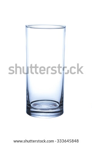Empty drink glass