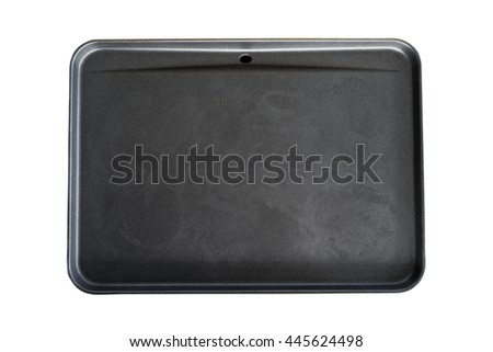 Empty Electrical cooking pan isolated on white