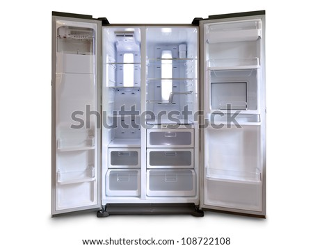 Empty Fridge Freezer Empty Fridge Freezer With Both