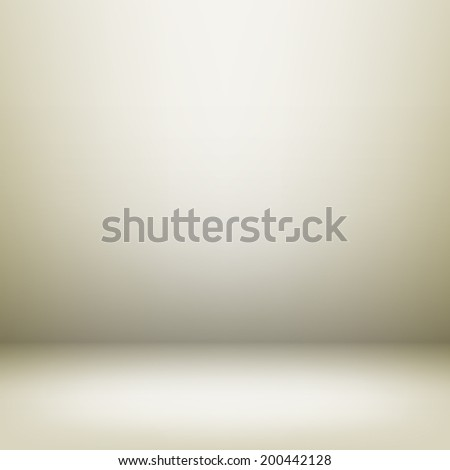 Empty light interior for your creative project. - stock photo