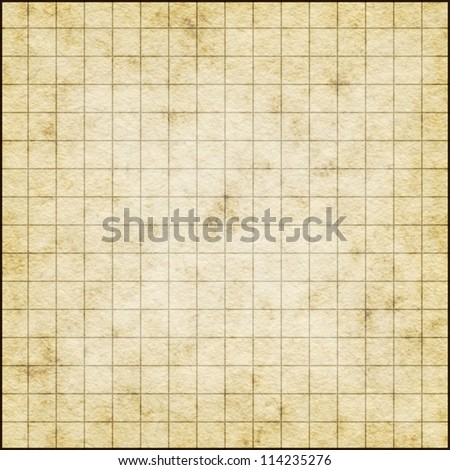 Empty Map Template On Old Paper Stock Illustration 114235276 ...