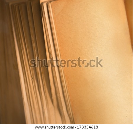 Empty notebook, copyspace - stock photo