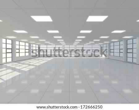 Empty office - stock photo