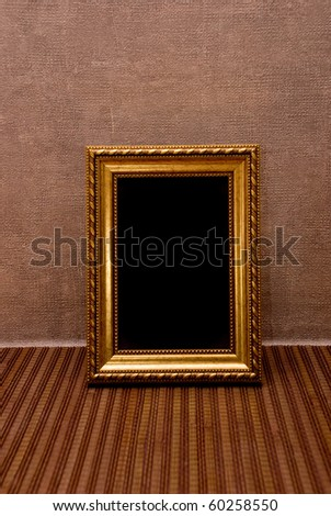Empty picture frame - stock photo
