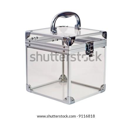 empty plastic box - stock photo