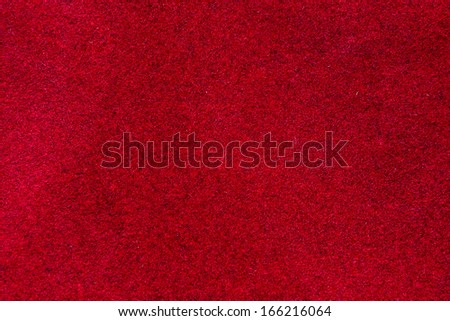 empty red velvet texture background - stock photo