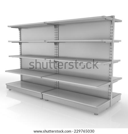 Empty Retail Store - stock photo