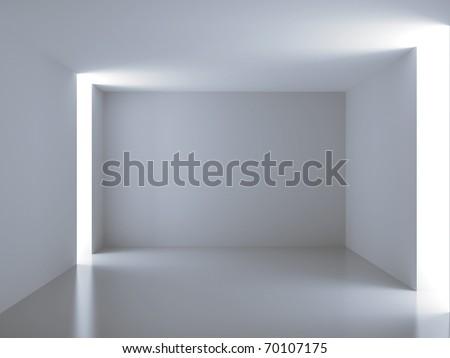 Empty room. Abstract interior - stock photo