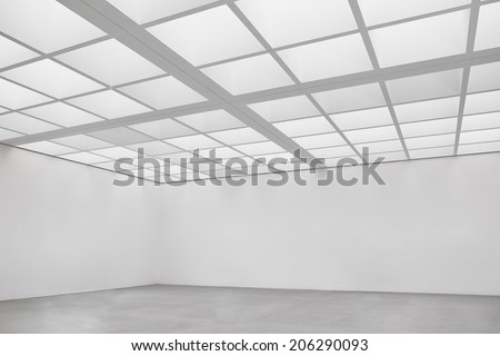empty room at a gallery - nice background