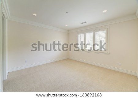 Empty room in a house. - stock photo
