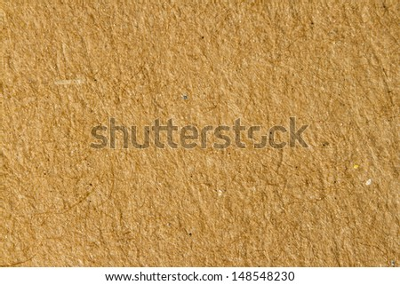 empty sheet of recycle paper for natural background, studio image - stock photo