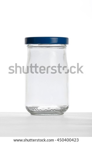 Empty small jar