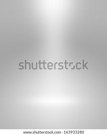 Empty Spotlight Interior Backdrop - stock photo