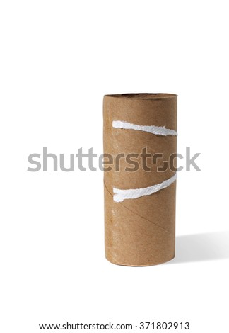 Empty Toilet Paper Roll