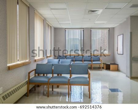 Empty Waiting Room Stock Photo 692514376 - Shutterstock