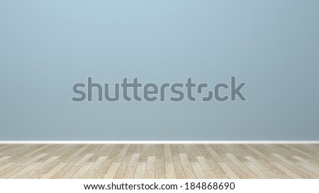 empty wall in the room - stock photo