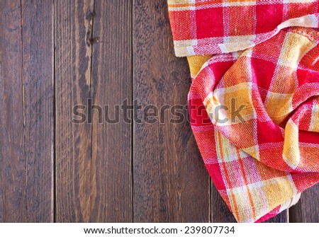 empty wooden cutting board - stock photo