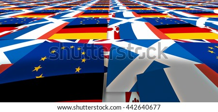 endless Europe north irland germany scotland france background flags
