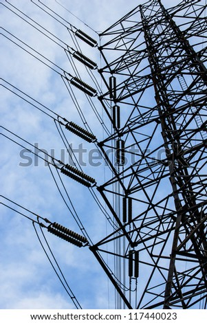 Energy and high voltage power line